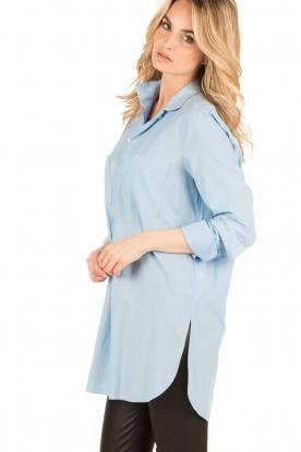 By Malene Birger | Lange blouse Hanafrida | blauw
