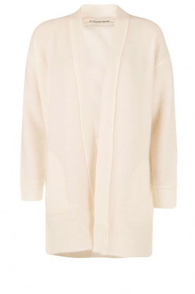 By Malene Birger |  Fine knitted cardigan Lounda | white