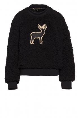 Goldbergh |  Teddy sweater Deer | black