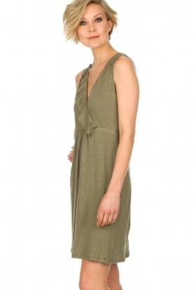 BLAUMAX | Linnen jurk Jennifer | groen
