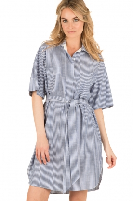 By Malene Birger |  Blouse dress Olali | blue
