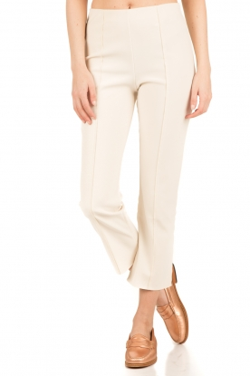 By Malene Birger | Cropped pantalon Viggie | crème wit