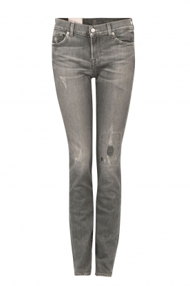 7 For All Mankind |  Midrise jeans Roxanne length size 32 | grey