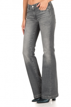 7 For All Mankind | Flared jeans Charlize lengtemaat 32 | grijs