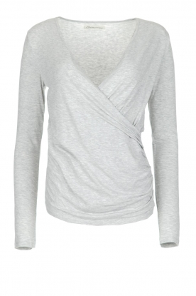 BLAUMAX |  Top Sara | light grey