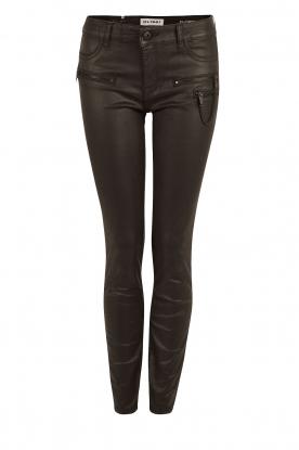 DL1961 | Gecoate broek Florance | zwart