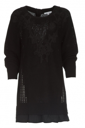 Patrizia Pepe |  Sweater Melanie | black