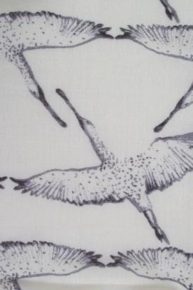 Becksöndergaard | Zijden sjaal Funanya | grijs