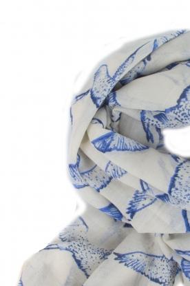 Becksöndergaard | Zijden sjaal Funanya | blauw