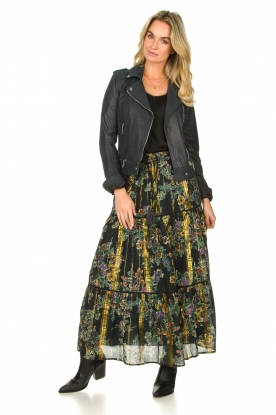 Look Maxi skirt with lurex Frankzap