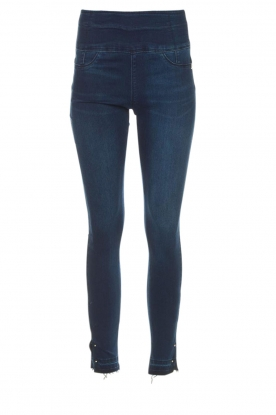 Patrizia Pepe |  High waist jeans Raq | blue