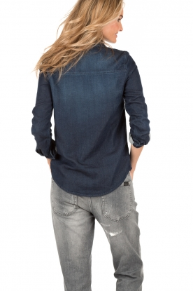 ba&sh | Blouse Bridget | blauw