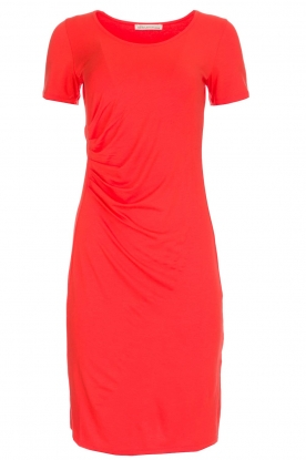 BLAUMAX |  Dress Mona | orange red