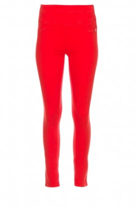 Patrizia Pepe |  High waist jeans Norelle | red