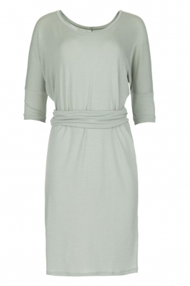 BLAUMAX |  Dress with waist band Mila | soft blue