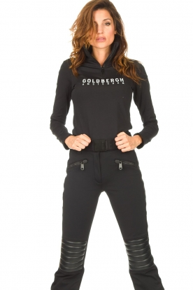 Goldbergh |  Ski pully with logo Mandy | black