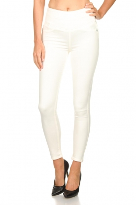 Patrizia Pepe | High waist jeans Norelle | wit