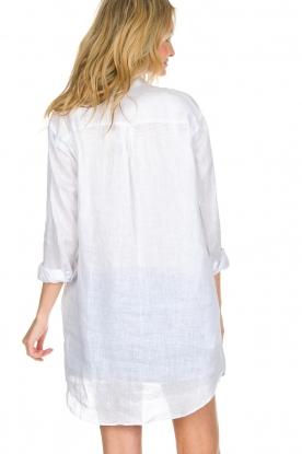 BLAUMAX | Linnen blouse Marlyne | Wit