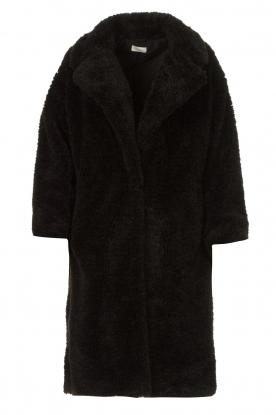 JC Sophie |  Faux fur coat Judy | black