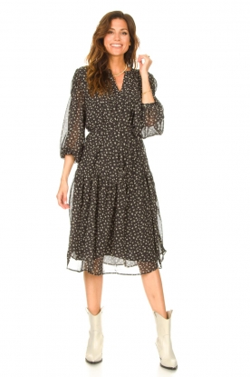 Look Midi dress with print Juno