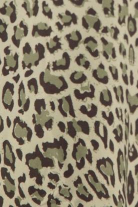 Rosemunde | Luipaard top met kant Jasmin | print
