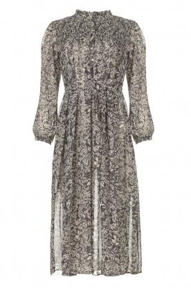 JC Sophie |  Printed midi dress Jupiter | blue