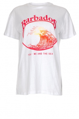 Zoe Karssen | T-shirt Barbados | wit