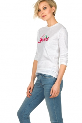 Zoe Karssen | T-shirt Lover | wit