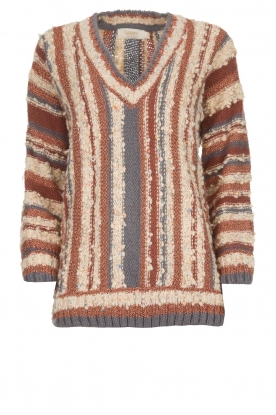 Rabens Saloner | Knitted sweater Fatema | multi