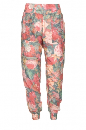 Notes Du Nord | Floral pants Richie | pink