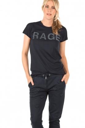 Zoe Karssen | T-shirt Rage | donkerblauw
