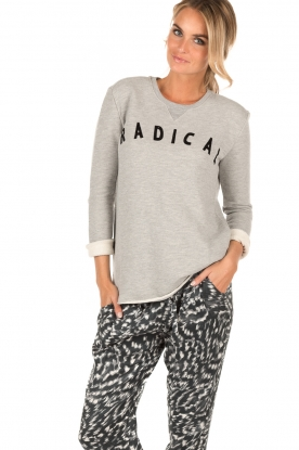 Zoe Karssen | Sweater Radical | grijs