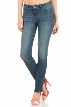 DL1961 | Straight fit jeans Mara | blauw