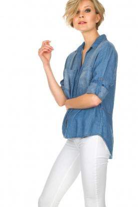 Bella Dahl | Spijkerblouse Nila | blauw