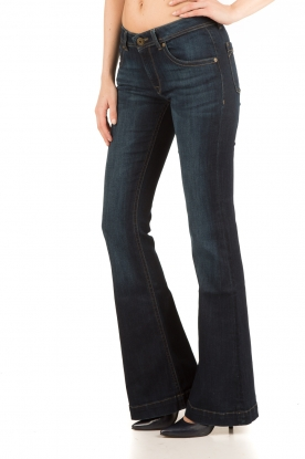 DL1961 | Flared jeans Joy Pulse | donkerblauw