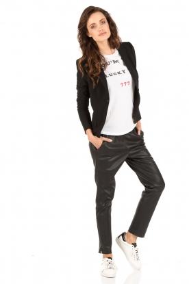 Zoe Karssen | T-shirt Lucky Nr 777 | wit