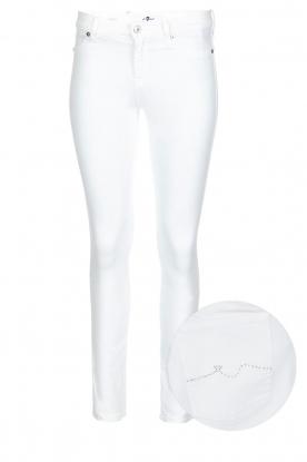 7 For All Mankind   Skinny jeans The Skinny met Swarovski   wit