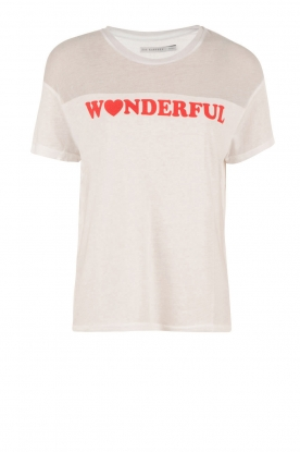 T-shirt Wonderful | white