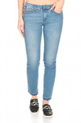 7 For All Mankind | Skinny jeans Piper Escape | blauw