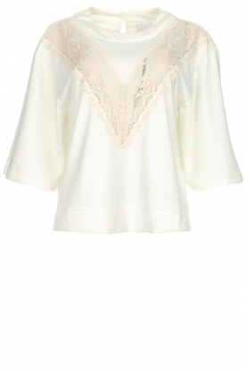 AnnaRita N | Top Olivia | white