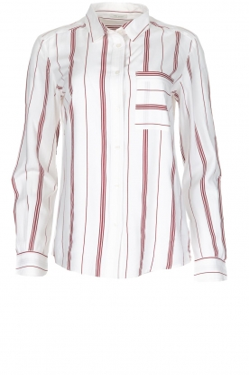 IKKS |  Striped blouse Aurore | white