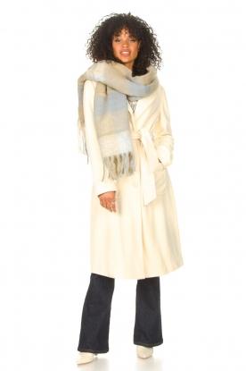 JC Sophie |  Knitted scarf Juanita | blue