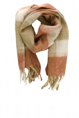 JC Sophie |  Knitted scarf Juanita | brown