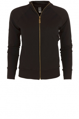 Deblon Sports |  Jacket Ribbed Classic | black