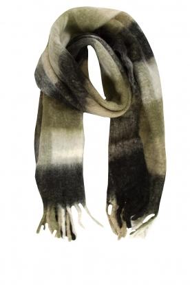 JC Sophie |  Knitted scarf Juanita | black