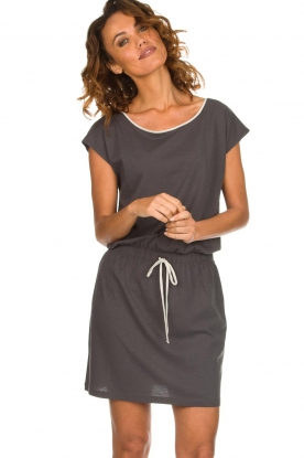 Blaumax |  Cotton dress Shelly | grey