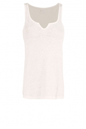 Blaumax | Mouwloze basic top Madrid | wit