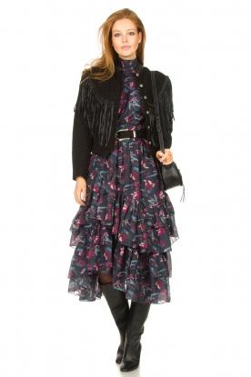 Look Midi ruffle dress Paula