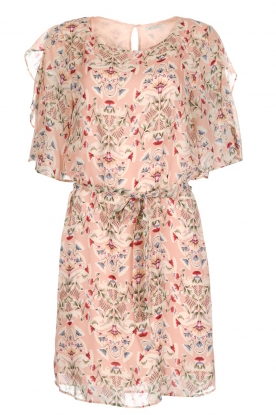 IKKS |  Flower print dress Mila | pink