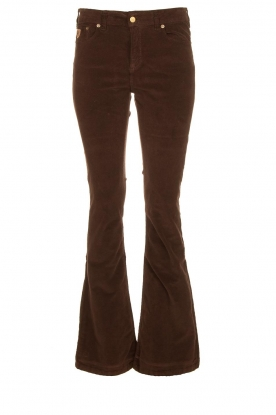 Lois Jeans |  L34 Jeans Raval Baby Rib | brown
